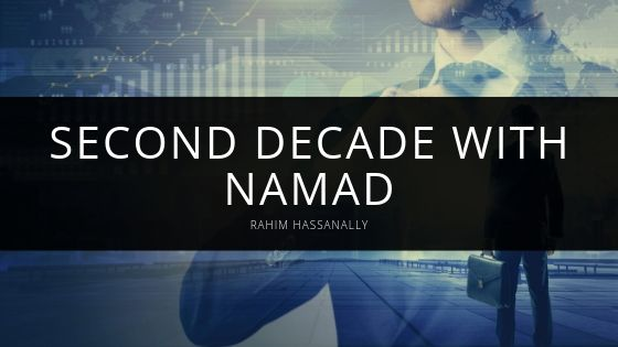 Rahim Hassanally Marks Start of Second Decade With Namad